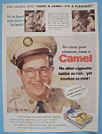 Vintage Ad: 1956 Camel Cigarettes w/ Phil Silvers