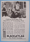 Vintage Ad: 1923 Black Flag