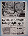 Vintage Ad: 1955 Curad Plastic Bandages