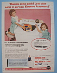 Vintage Ad: 1955 Kenmore Automatic & Tide Detergent