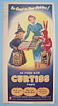 Vintage Ad: 1956 Curtiss Baby Ruth & Butterfinger