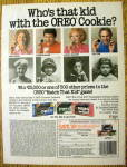 1986 Oreo Cookies with Frankie Avalon, Tony Dow & More