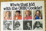 Click to view larger image of 1986 Oreo Cookies with Frankie Avalon, Tony Dow & More (Image2)