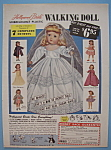 Vintage Ad: 1956 Hollywood Bride Walking Doll