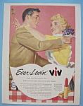 Vintage Ad: 1956 Ever - Lovin' Viv Lipstick
