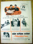 Click to view larger image of Vintage Ad: 1941 The Philadelphia Story (Image1)