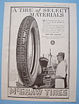 Click here to enlarge image and see more about item 11997: Vintage Ad: 1918 McGraw Tires
