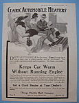 Click here to enlarge image and see more about item 11999: Vintage Ad: 1918 Clark Automobile Heaters