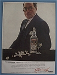 Click here to enlarge image and see more about item 12011: Vintage Ad: 1958 Smirnoff Vodka w/ Bernard De Haan