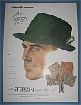Vintage Ad: 1952 Stetson Hats