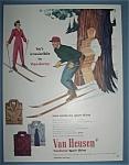 Vintage Ad: 1950 Van Heusen Corduroy Shirts