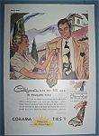Click here to enlarge image and see more about item 12029: Vintage Ad: 1943 Cohama Ties