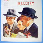 Click to view larger image of 1938 Mallory Hats with Men Wearing The Velshire Club (Image2)