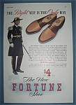 Click here to enlarge image and see more about item 12032: Vintage Ad: 1941 Fortune Shoes