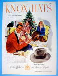 1945 Knox Hats with a Man Getting the Knox Tom & Jerry