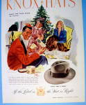 Click to view larger image of 1945 Knox Hats with a Man Getting the Knox Tom & Jerry (Image2)