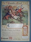 Click here to enlarge image and see more about item 12043: Vintage Ad: 1939 Seagram's V.O. Canadian Whiskey