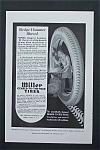 1917 Miller Geared-To-The-Road Tires with Man & Tire