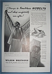 Vintage Ad: 1937 Wilson Brothers
