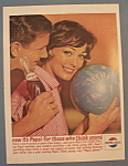 1963 Pepsi-Cola (Pepsi) w/ Woman Holding a Bowling Ball