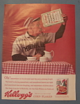 Click here to enlarge image and see more about item 12077: Vintage Ad: 1963 Kellogg's Corn Flakes Cereal
