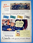 Click here to enlarge image and see more about item 12088: Vintage Ad: 1940 Camel Cigarettes with Bob Swanson
