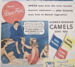 Click to view larger image of Vintage Ad: 1940 Camel Cigarettes w/ Peter Fick (Image1)
