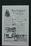 Vintage Ad: 1917 New England The Vacation Land