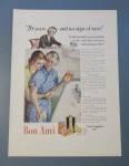 Vintage Ad: 1938 Bon Ami