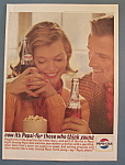 1963 Pepsi-Cola (Pepsi) w/Man & Woman Talking