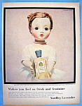 Vintage Ad: 1956 Yardley English Lavender