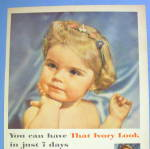 Click to view larger image of 1956 Ivory Soap with Lovely Little Blonde Haired Girl (Image2)