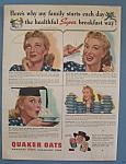 Vintage Ad: 1942 Quaker Oats