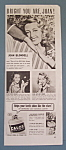 Vintage Ad: 1941 Calox Tooth Powder w/ Joan Blondell