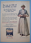 Click here to enlarge image and see more about item 12207: Vintage Ad: 1914 G. Washington Prepared Coffee