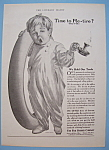 Click here to enlarge image and see more about item 12212: Vintage Ad: 1914 Fisk Rubber Company