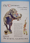 Click here to enlarge image and see more about item 12226: Vintage Ad: 1932 Ethyl Gasoline