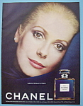 1974 Chanel Perfume with Catherine Deneuve