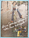 Click here to enlarge image and see more about item 12239: Vintage Ad: 1974 Blue Jeans Cologne