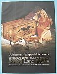 Click here to enlarge image and see more about item 12251: Vintage Ad: 1974 Lane Love Chests