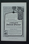 1917 Johnson's Freeze Proof w/ Can of Johnson's Freeze