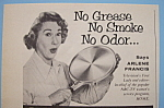 Vintage Ad: 1955 Wear - Ever Griddles w/ Arlene Francis