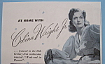Vintage Ad: 1941 North Star Blanket w/ Cobina Wright Jr