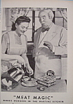 Click here to enlarge image and see more about item 12325: Vintage Ad: 1943 B. V.  w/ George Rector