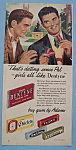 Click here to enlarge image and see more about item 12333: Vintage Ad: 1948 Dentyne