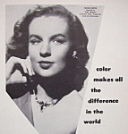 1951 Marshall's Photo Oil Colors with Helena Carter