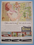 1955 Eastern Curtain & Drapery Hardware w/Man & Woman