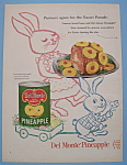 Click here to enlarge image and see more about item 12364: Vintage Ad: 1955 Del Monte Pineapple