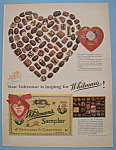 Click here to enlarge image and see more about item 12366: Vintage Ad: 1955 Whitman's Sampler