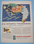 Click here to enlarge image and see more about item 12367: Vintage Ad: 1955 Borg-Warner Automatic Transmissions
